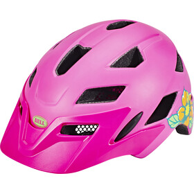 Bell Sidetrack Helmet Youth matte pink/lime